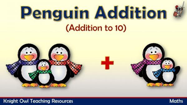 Penquin Addition - Addition to 10 1
