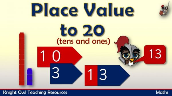 Place Value to 20 (tens and ones)