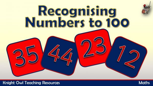 Recognising Numbers to 100 1
