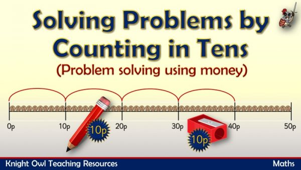 Solving problems by counting in tens (money) 1