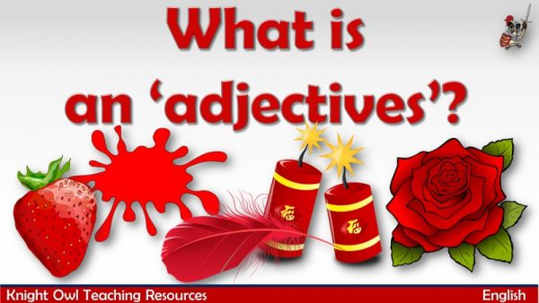 What is an adjective1