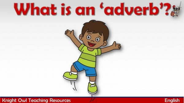 What is an adverb1