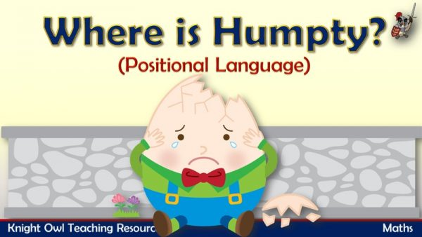 Where is Humpty - positional language1