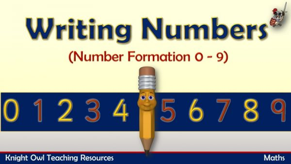 Writing Numbers 1