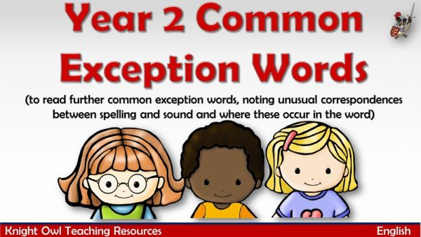 Year 2 Common Exception Words1