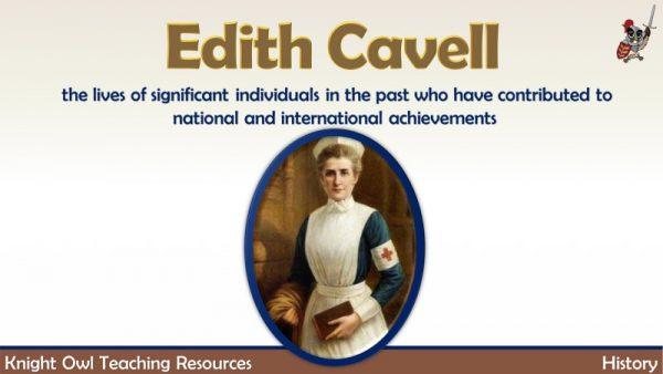 Edith Cavell 1