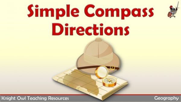 Simple Compass Directions 1
