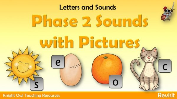 Phase 2 Sounds with Pictures 1