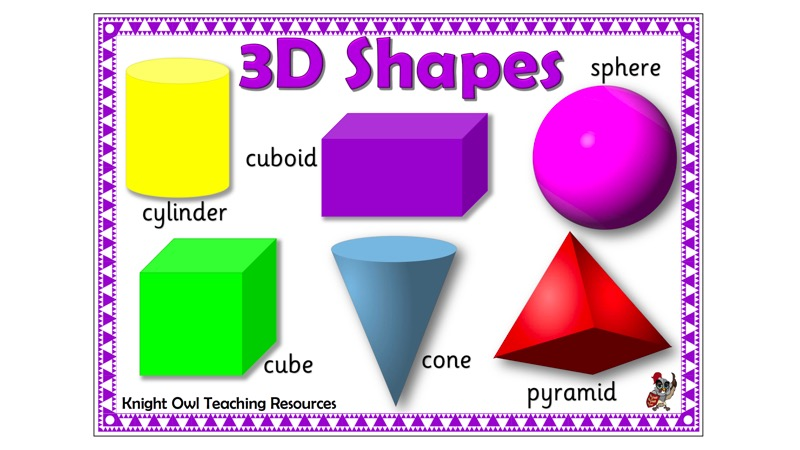 3d Shape Mat