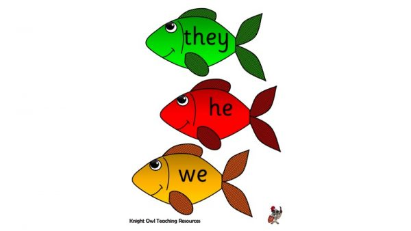 Tricky Word Fish 1