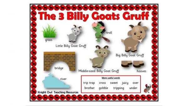 3 Billy Goats Gruff 1