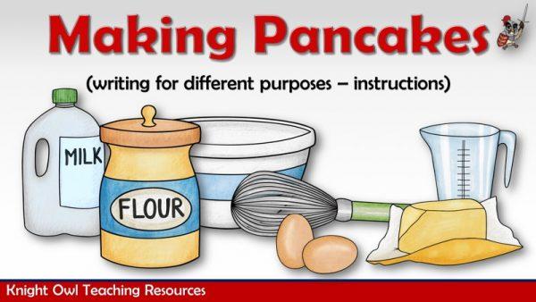 Making Pancakes 1
