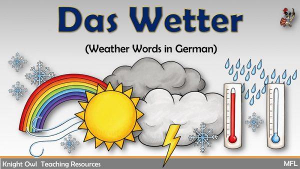 Das Wetter 1