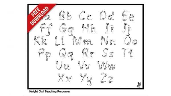 Letter Formation 4