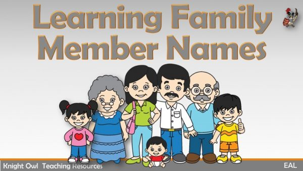 Learning Family Member Names 1