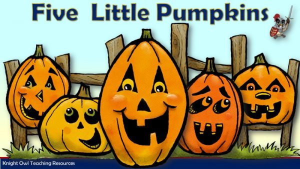 Five Little Pumpkins 1