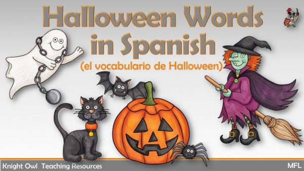 Hallowween Words in Spanish 1