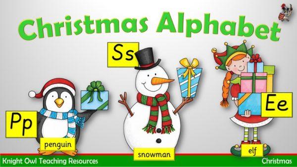 Christmas Alphabet 1
