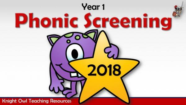 Phonic Screening 2018 1