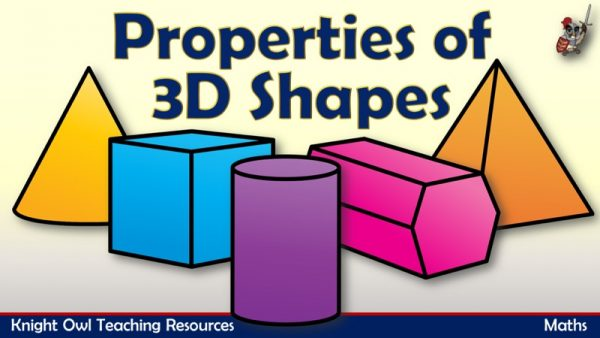 Properties of 3D Shapes 1